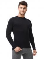 Термофутболка мужская с длинным рукавом NORVEG Soft, S черный