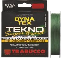 Шнур TRABUCCO Dyna-Tex Tekno Super Braid 135m 0,285mm 18,14kg/40lb Dark Green