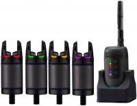 Набор сигнализаторов поклевки PROLOGIC K3 Bite Alarm Set 4+1 (Green, Yellow, Red, Blue)