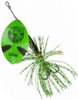 Блесна DAM MADCAT Big Blade Spinners - Green 55g