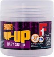 Бойлы плавающие BRAIN Pop-Up F1 Baby Squid 10mm, 20g
