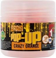 Бойлы плавающие BRAIN F1 Crazy Orange 10mm 20g