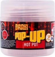 Бойлы плавающие BRAIN Pop-Up F1 Hot Pot 12mm 15g