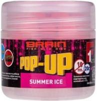 Бойлы плавающие BRAIN Pop-Up F1 Summer Ice 10mm 20g