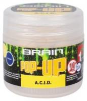Бойлы плавающие BRAIN Pop-Up F1 A.C.I.D 12mm 15g