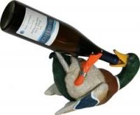 Фиксатор под бутылку River's Edge Duck Wine Bottle Holder