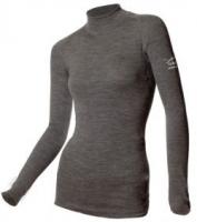 Термофутболка для беременных с длинным рукавом NORVEG Soft, XS серый жемчуг
