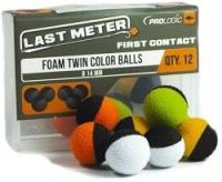 Искуственные бойлы PROLOGIC Foam Twin Color Balls 14mm 12pcs