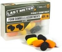 Искуственные дамбелсы PROLOGIC Foam Dumbbell Assortment 15mm 16pcs