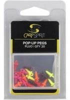 Колышки CARP SPIRIT Pop-up Pegs - Fluorescent Orange