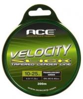 Конусный лидерлайн ACE Velocity SLICK Leaderline 12/30lb 300m