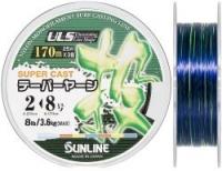 Конусная леска SUNLINE NEW TAPERED LINE 3 Colors 170m 0.235mm-0.47mm