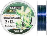 Конусная леска SUNLINE NEW TAPERED LINE 3 Colors 170m 0.235mm-0.57mm