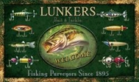 Коврик дверной River's Edge Door Mat-Fishing