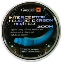 Леска флюорокарбоновая PROLOGIC Interceptor Fluoro Carbon Coated 300m 0.286mm
