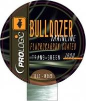 Леска PROLOGIC BULLDOZER FLUOROCARBON COATED MONO 1000m 0.37mm 18lbs Trans Green