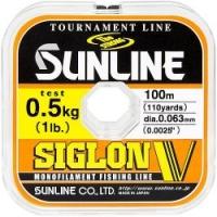 Леска SUNLINE Siglon V 100m #0.15/0.063mm