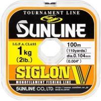 Леска SUNLINE Siglon V 100m #0.4/0.104mm