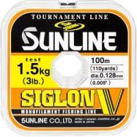 Леска SUNLINE Siglon V 100m #0.6/0.128mm