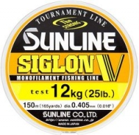 Леска SUNLINE Siglon V 150m #6.0/0.405mm Mist Green