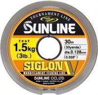 Леска SUNLINE Siglon V 30m #0.6/0.128mm Mist Green