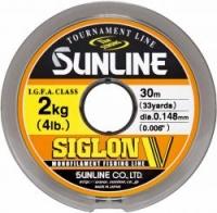Леска SUNLINE Siglon V 30m #0.8/0.148mm Mist Green