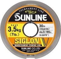 Леска SUNLINE Siglon V 30m #1.2/0.185mm Mist Green