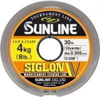 Леска SUNLINE Siglon V 30m #1.5/0.205mm Mist Green