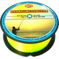 Леска WFT Zielfisch Brandung 250m 0.40mm /Yellow