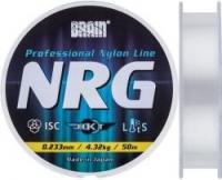 Леска зимняя BRAIN NRG 50m 0.234mm 4.32kg