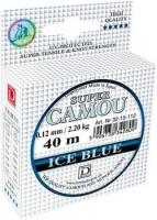 Леска зимняя DRAGON SUPER CAMOU Ice Blue 40m 0.10mm
