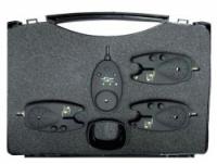 Набор сигнализаторов поклевки CARP SPIRIT Coffret 3VT bleu + Recepteur VR