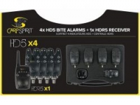 Набор сигнализаторов поклевки CARP SPIRIT Set of 4 Alarms HD5 + Receiver HDR5