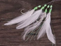 Оснастка для морской рыбалки SAENGER AQUANTIC Rig Makrele I feathers and marabou 1.80m - 2/0