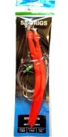 Оснастка для морской рыбалки SHAKESPEARE Seelachs Rig with 2 Hook 12/0