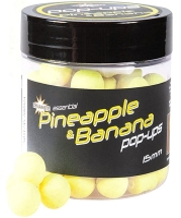 Бойлы плавающие DYNAMITE BAITS Pineapple & Banana - Fluro Yellow Pop-Up 10mm