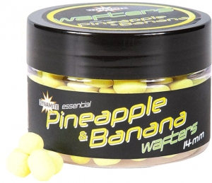 Дамбелсы нейтральной плавучести DYNAMITE BAITS Fluro Wafters - Pineapple & Banana - 14mm