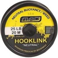 "Поводковый материал DAM MAD HOOKLINK ""NEUTRAL"" 20m 25lb /Weed"