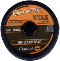 Поводковый материал PROLOGIC Viper 3S 15m 40lbs /Three Tone Camo Green