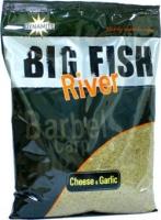 Прикормка DYNAMITE BAITS Big Fish River Groundbait - Cheese & Garlic 1.8kg