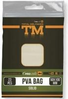 ПВА пакеты PROLOGIC PVA Bag W/Solid 17pcs 100x140mm