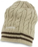 Шапка SHIMANO BREATH HYPER+ Fleece Knit Watch Cap, beige