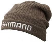 Шапка SHIMANO BREATH HYPER+ Fleece Knit Watch Cap, brown