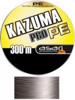 Шнур ASARI Kazuma Pro PE 300m 0.70mm 180lb/81.82kg Grey