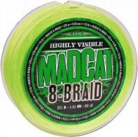 Шнур DAM MADCAT 8-BRAID 270m 0.60mm 135lb/61.2kg /Green