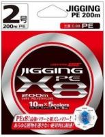 Шнур LineSystem JIGGING PE X8 200m #1.5 12.3lb/5.58kg Multicolor