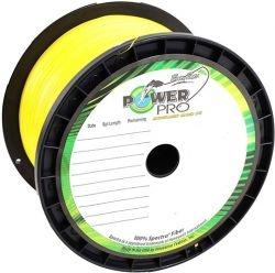 Шнур POWER PRO Super Lines Hi-Vis Yellow, 1370 m, 0.13 mm
