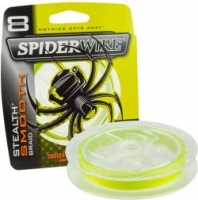 Шнур SpiderWire Stealth Smooth 8 Hi-Vis Yellow 150m 0.08mm 16lb/7.3kg