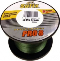 Шнур SUFIX Performance Pro 8 1500m 0.10mm 14lb/6.5kg /Lo-Vis Green