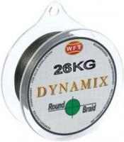Шнур WFT Round Dynamix Exact Moss Green 26KG 350m 0.30mm
